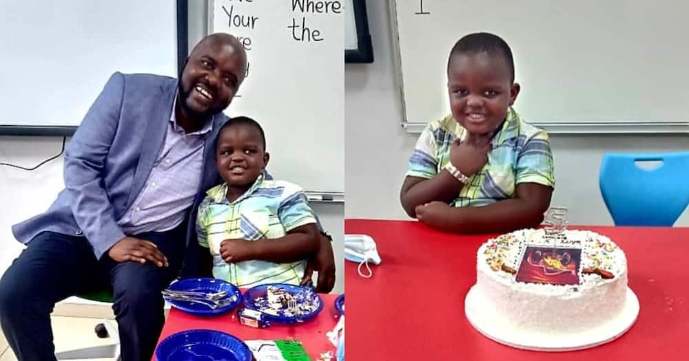 Butere MP Tindi Mwale and his son Adnan Murithi Tindi Mwale.