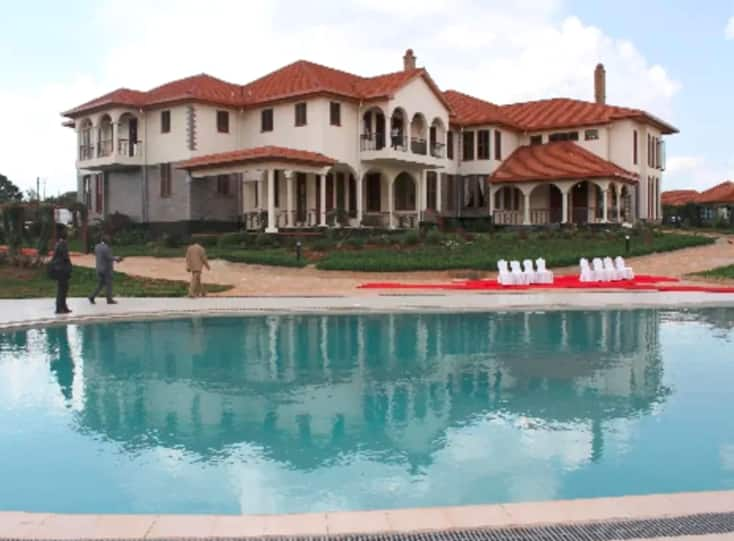 A view inside William Ruto's prestigious official residence