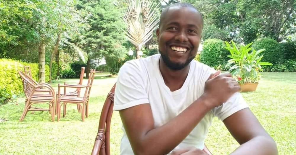 Author Silas Nyanchwani talked about the relationship between married men and their househelps. Photo: Silas Gisiora Nyanchwani.