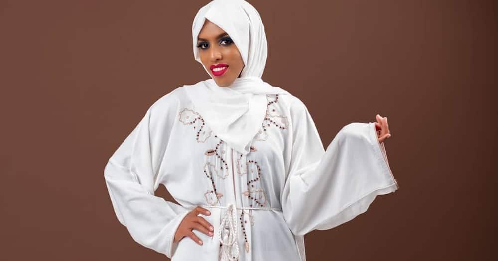 Comedienne Nasra Yusuff serenaded her husband online. Photo: Nasra Yussuf.