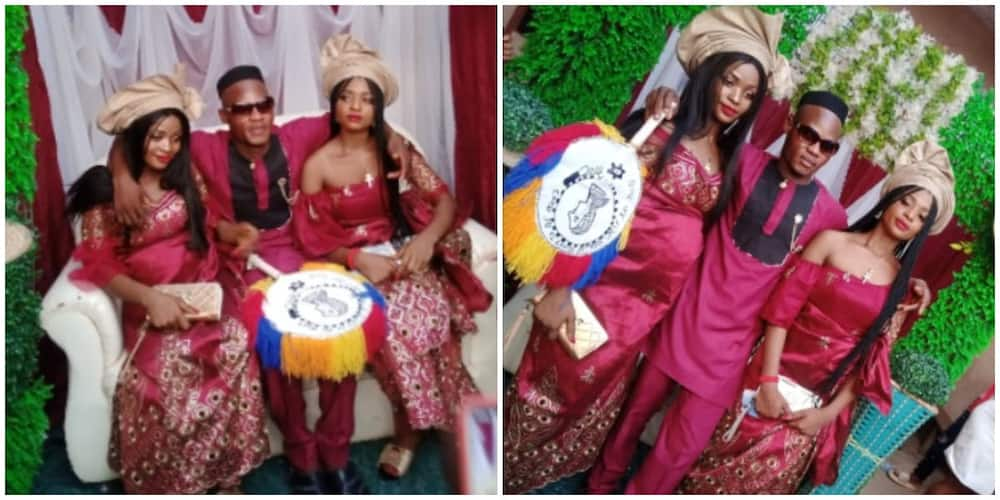 Twin sisters get married to one man because they couldn't live without each other