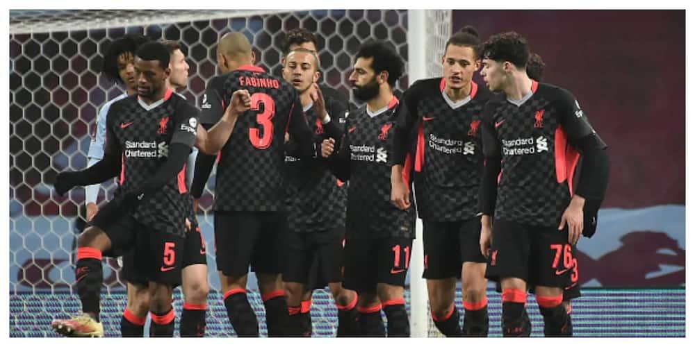Aston Villa vs Liverpool: Mane, Salah score as Reds win 4-1
