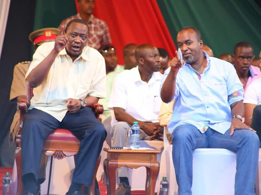 Joho boasts of new found friendship with Uhuru, says it has made him powerful