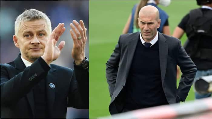 Tension for Solskjaer as Zidane releases huge statement over Manchester United managerial job