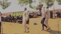 Didmus Barasa: Bungoma Funeral Turns Chaotic as Man Snatches Microphone from Kimilili MP