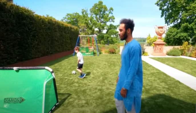 Inside Pierre-Emerick Aubameyang's incredible mansion with game room and lush garden