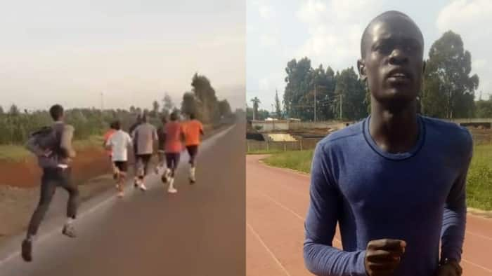 Dennis Cheruiyot: Uasin Gishu Student in Viral Running Video Appeals for Track Suit, Sports Shoes
