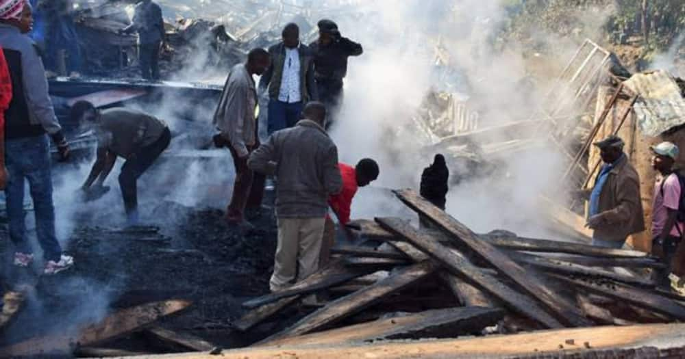 Gikomba Market traders counting losses after another dawn fire destroys properties