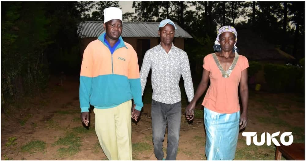 """Kakamega Man Who Lost Sight Pleads for Help to Salvage Marriage: """"Wife Threatened to Abandon Me"""""""