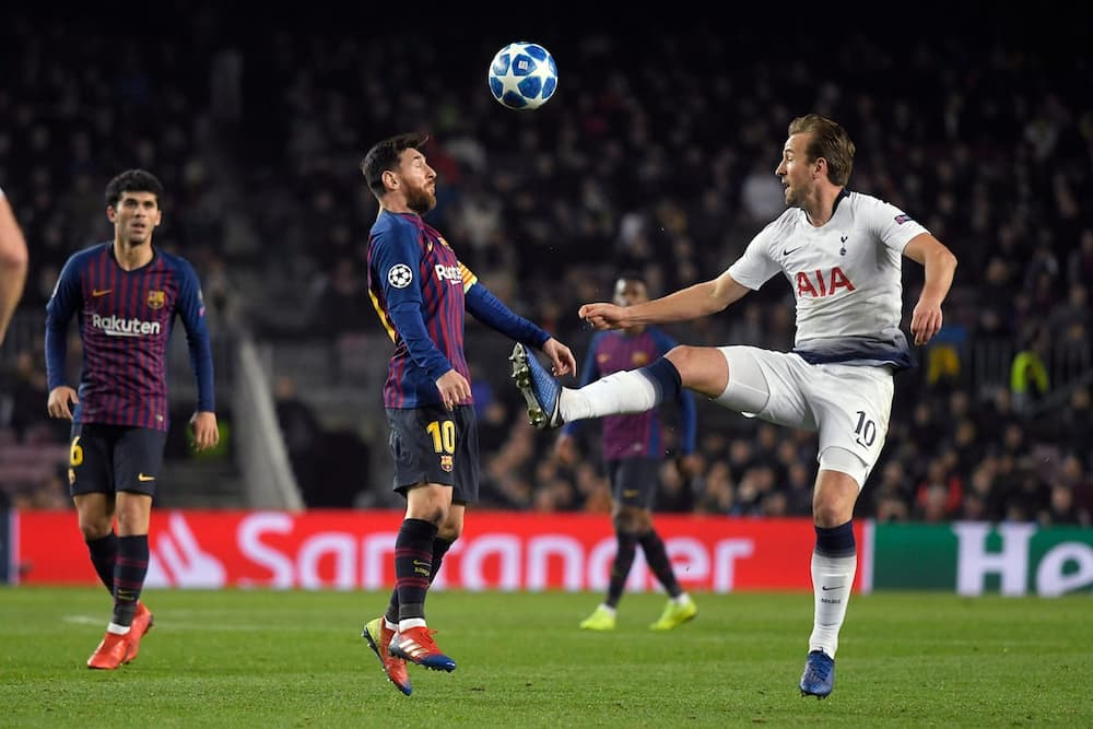 Lionel Messi in action for Barcelona.