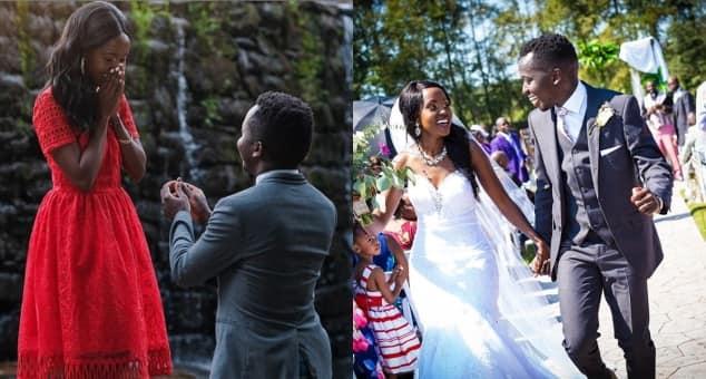 Gospel star Billy Frank weds lover in colourful wedding in