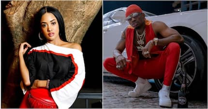 Diamond Platinumz Kenyan lover reveals how she met the music sensation