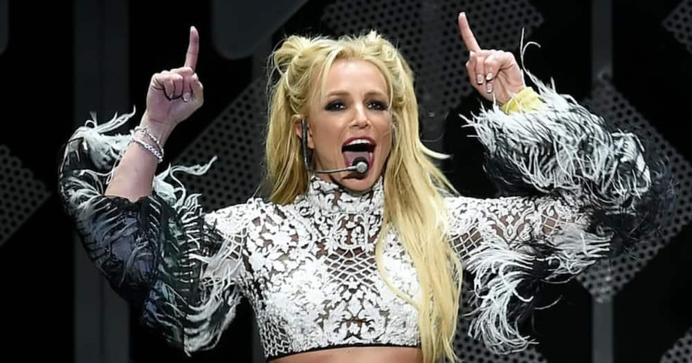 Singer Britney Spears got her first iPad recently.