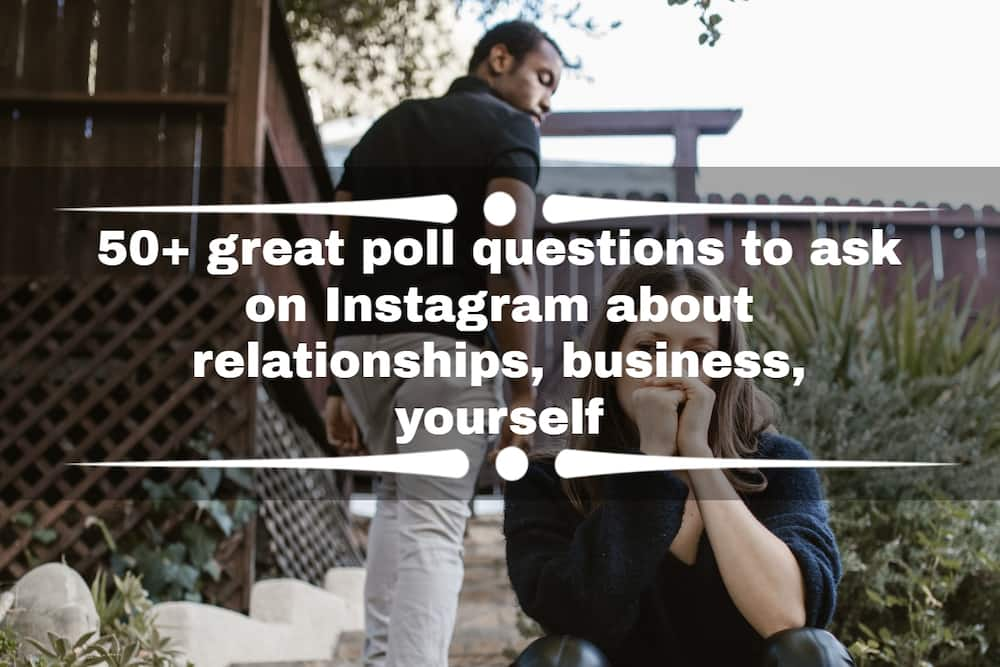 Poll questions to ask on Instagram