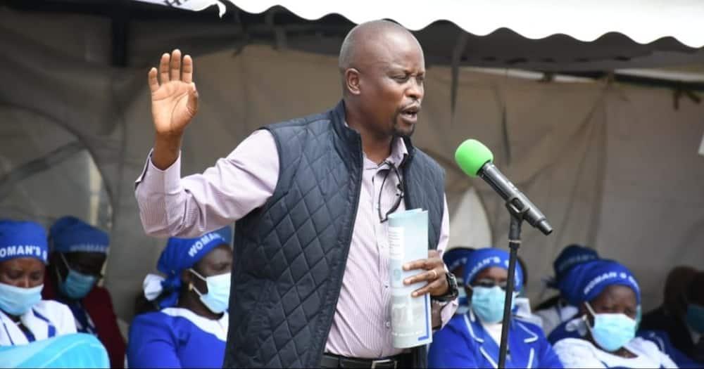 """""""Nyinyi Ndio Mnachukiana"""": Kanini Kega Asema Baada ya Kukutana na Mwandani wa DP Ruto"""