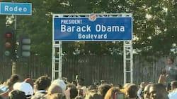 Former US President Barrack Obama honored in US after Los Angeles names street after him