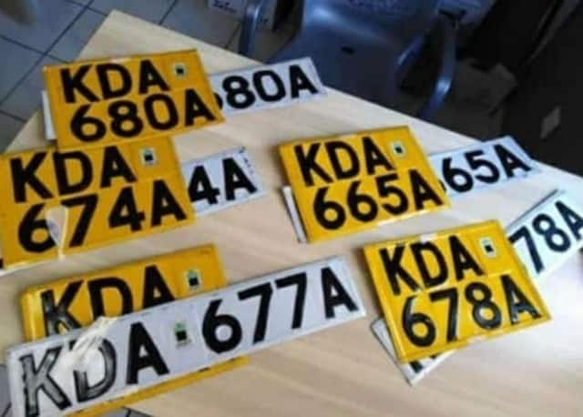 How to apply for a new number plate in Kenya