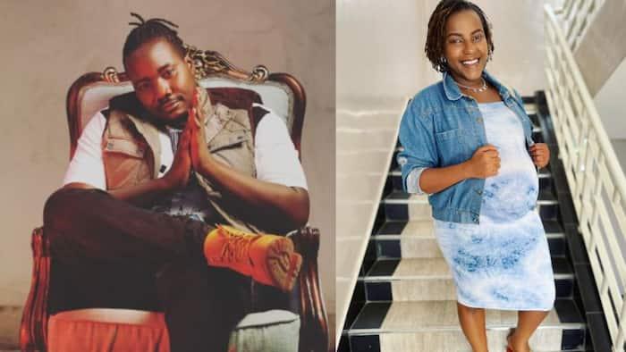 Willis Raburu's Lover Ivy Namu Confirms to Fans She Always Follows His Show