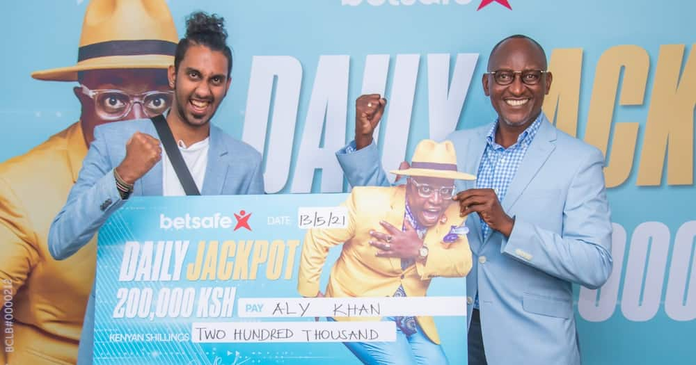 Lucky Kenyan Man Wins KSh 200,000 Jackpot on The Eve of Middle Jackpot Launch