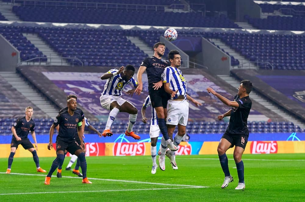 FC Porto vs Manchester City: Pep Guardiola's men get a point in Champions League tie