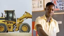 Innovative Student Builds Africa's First Excavator that Uses Water as Fuel