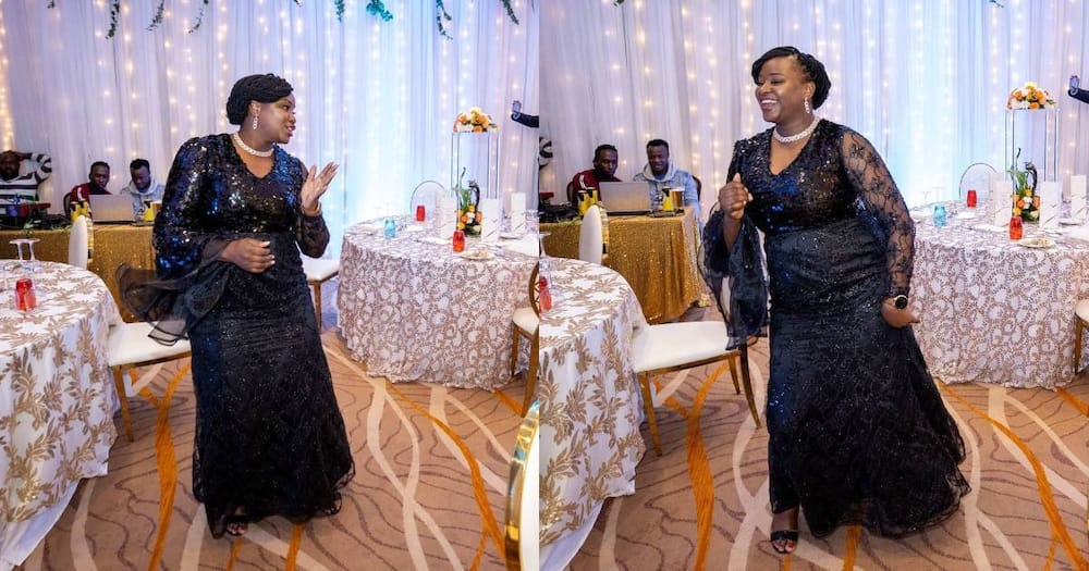 Kanze Dena showing off perfect dance moves in cute photos.