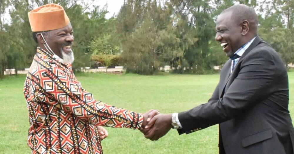 Binamu ya Rais Uhuru aongoza wazee wa Gikuyu kukutana na DP Ruto