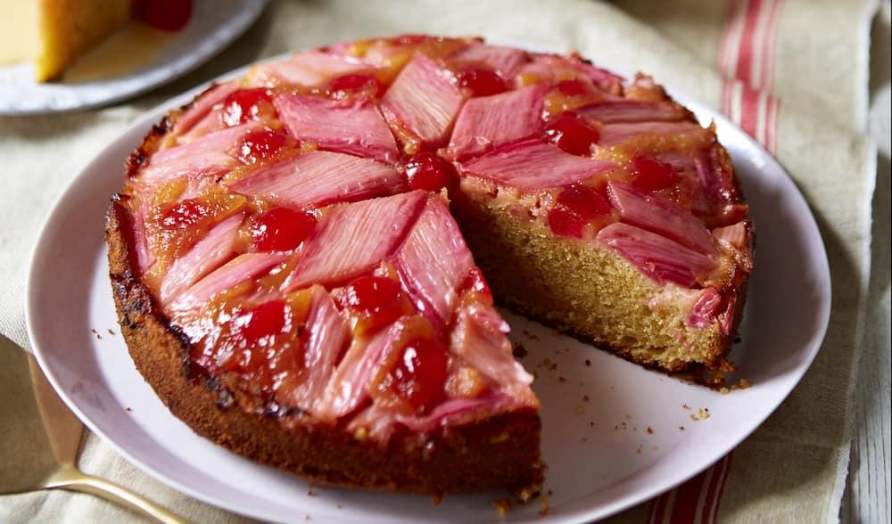 rhubarb cake recipe with cake mix