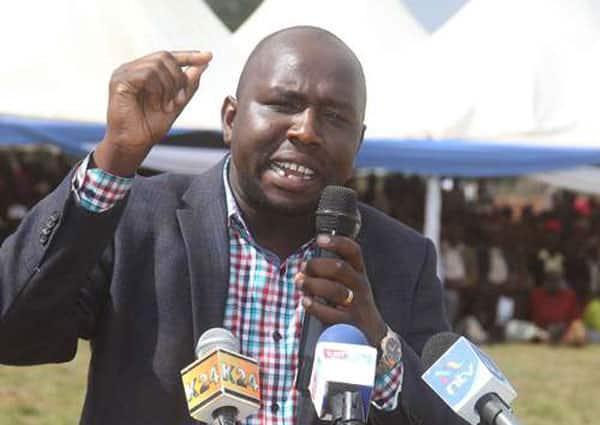 Moses Kuria, Sakaja differ with Murkomen over toilet comment on Uhuru's speech