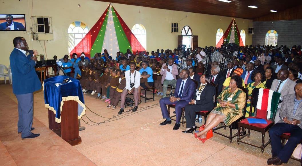 Raila awataka viongozi wa Kalenjin kuwaacha wafisadi kubeba misalaba yao
