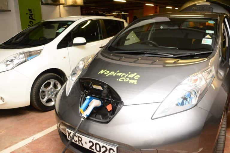Taxi hailing firm with electric powered cars enters Kenya market