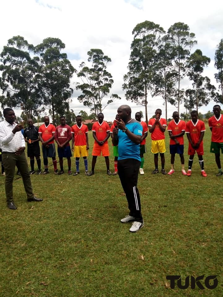 Luthers Mokua: The inspiring man using football to change lives, bring hope in Nyamira County