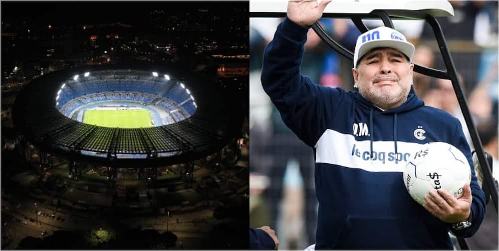 Diego Maradona renamed after Napoli stadium, Argentine football league