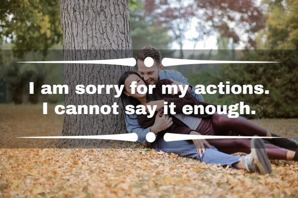 apology SMS to girlfriend