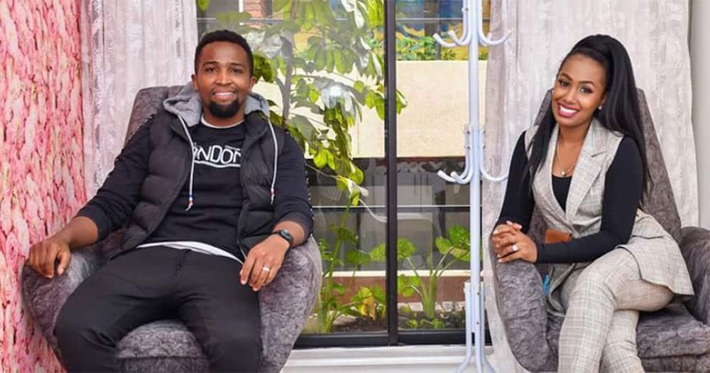 Pascal Tokodi and Grace Ekirapa.