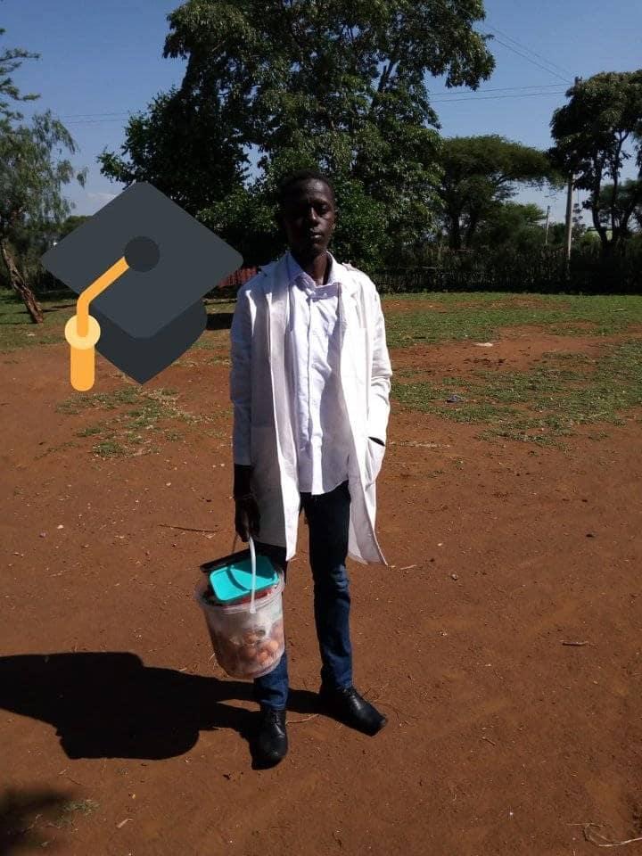 Kibabii University graduates hawks eggs to make ends meet, blames it on unemployment in Kenya Kibabi