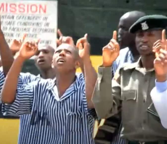 Narok prisoners thank God for delivering them in heartfelt gospel song