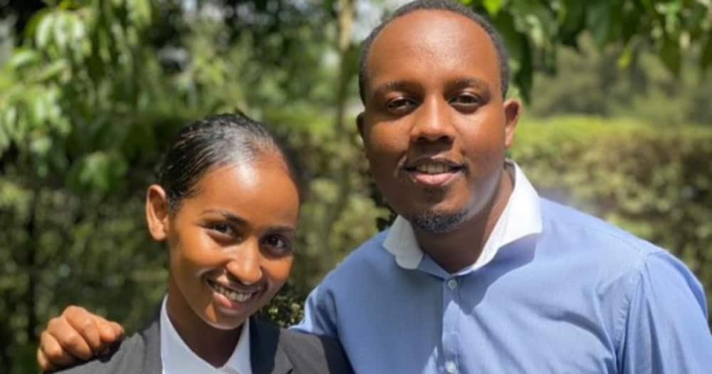 Abel Mutua reunites with former Tahidi High castmate Sarah Hassan on Crime and Justice series