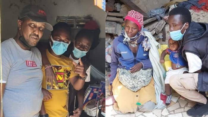 Mombasa: Mike Sonko Buys Wheelchair For Physically Impaired Son, Medication for Mom With TB