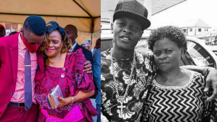 Jose Chameleone Thanks Mother for Standing by Him During Sickness, Shares Moving Photo