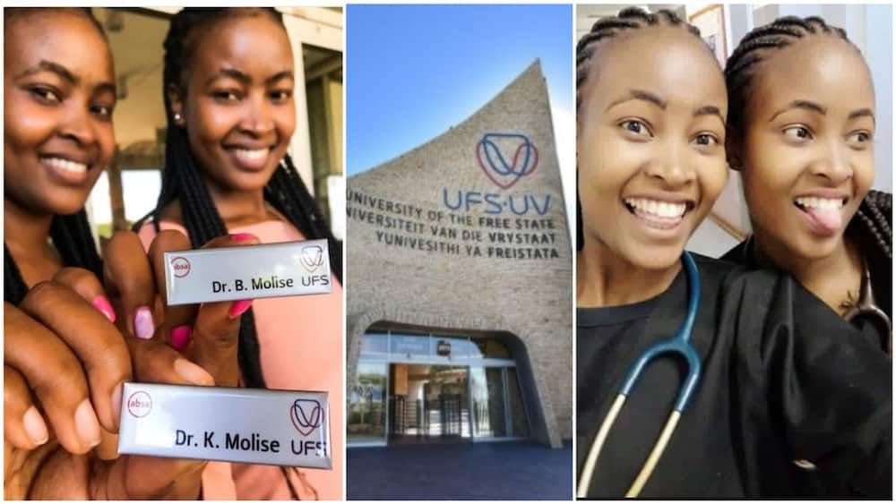 Beautiful twin sisters become medical doctors on same day, many praise them
