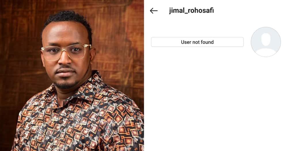 Amber Ray's Hubby Jamal is no longer on Instagram. Photo: @Screenshot of Jimal's account/Amber Ray.