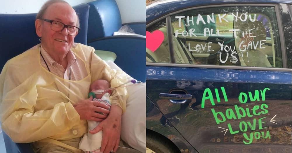 David Deutchman: Grandpa who cradled premature babies in ICU dies