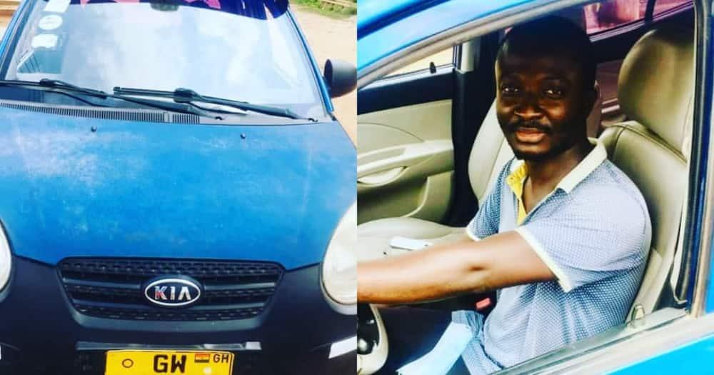 Honest taxi driver returns passenger's cash.