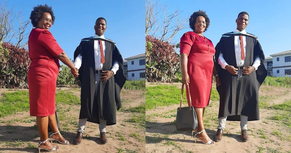 Grateful Son Thanks Unemployed Mom Who Raised His R2 500 Registration Fee