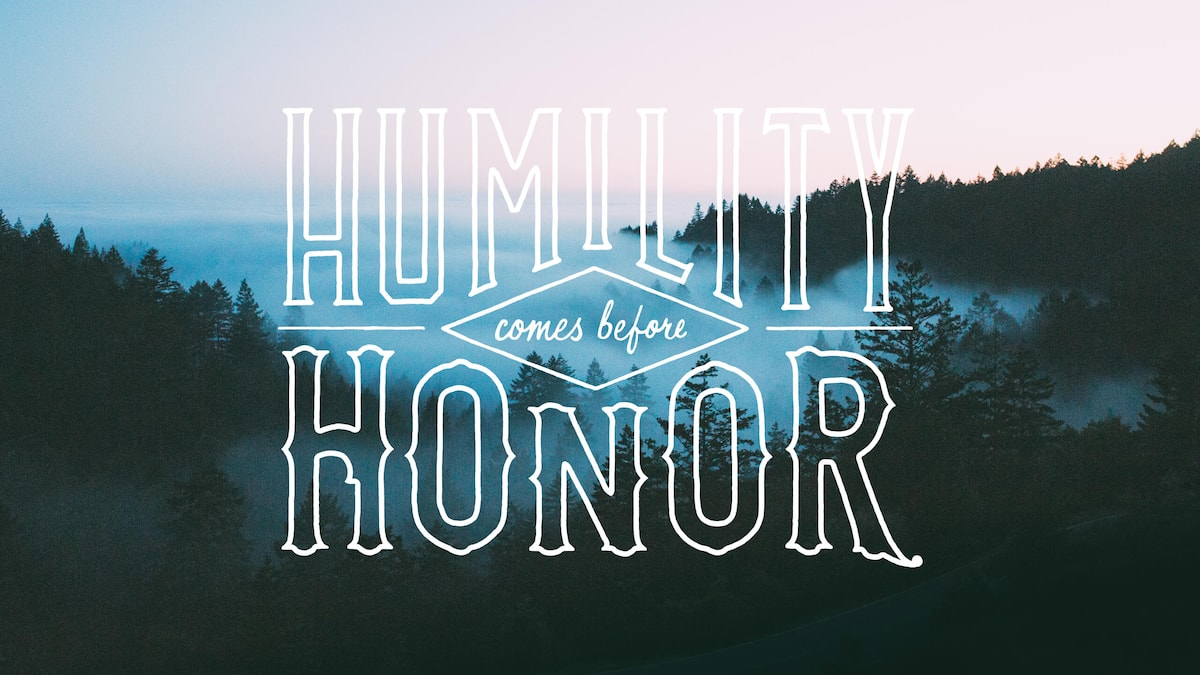 What is humility according to the Bible