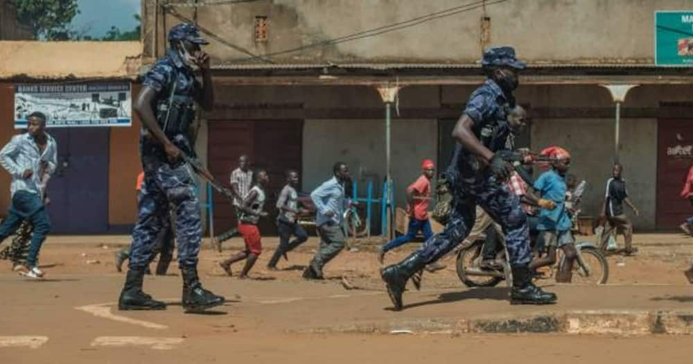 Uganda Police deny arresting Bobi Wine during campaign trail, says he was escorted home