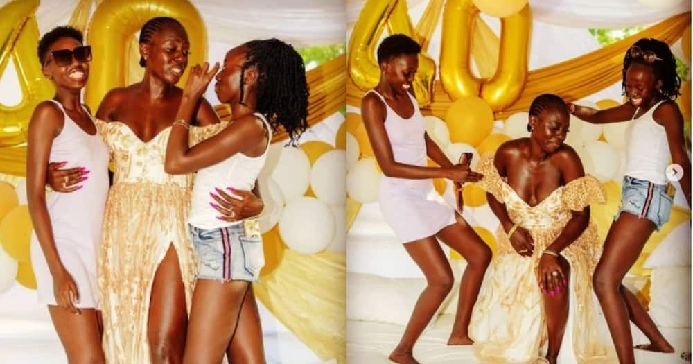 Kenyans divided after Akothee advises daughter to chase money instead of true love