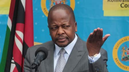 290 Out of 300 Nurses Selected for UK Jobs Failed English Test, CS Kagwe Discloses
