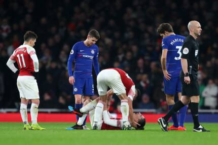 Unai Emery gives injury update on Arsenal star suffered during derby win over Chelsea